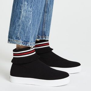 Opening ceremony Bobby ruffle sock sneakers